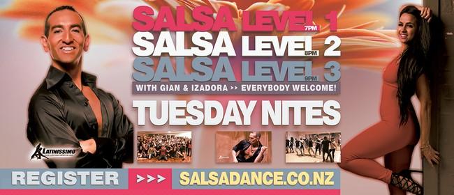 Salsa Improvers Course - Level Three