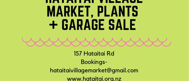 1st June Hataitai Village Market and Garage Sale