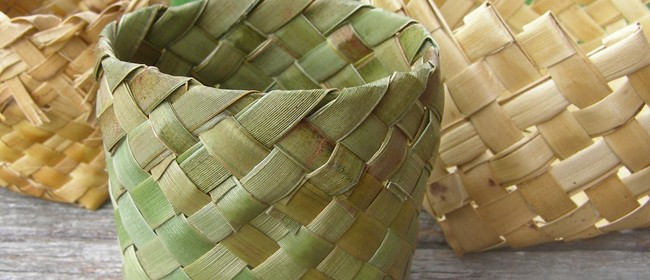 Weave Your Own Kono (NZ Flax Food Basket)