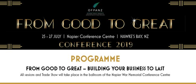 OFPANZ Annual Conference and Trade Show