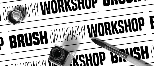 Brush Calligraphy Workshop with Pdro