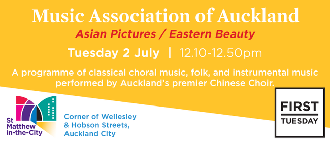 First Tuesday Concert - Asian Pictures/Eastern Beauty
