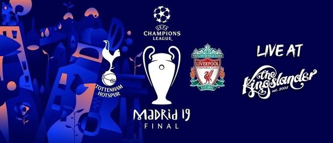 Champions League final 2019 - Spurs v Liverpool!