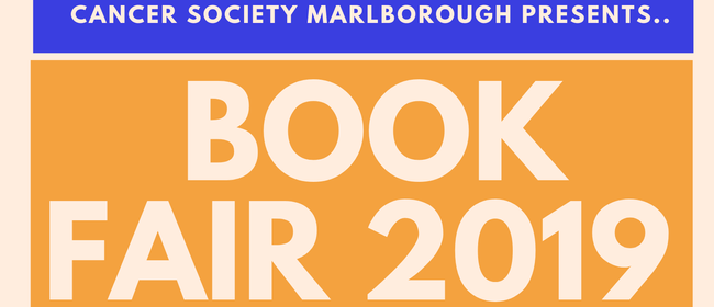 Cancer Society Marlborough's Book Fair