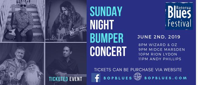 Midge Marsden Bumper Concert at Rotorua Blues Festival
