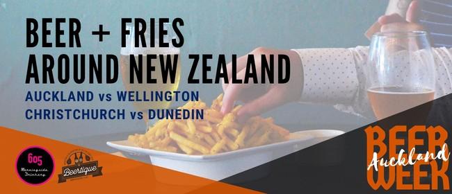 Auckland Beer Week: Beer & Fries Around New Zealand