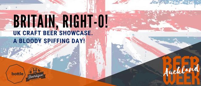 Auckland Beer Week: UK Craft Beer Showcase