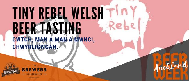 Auckland Beer Week: Tiny Rebel Welsh Craft Beer Tasting