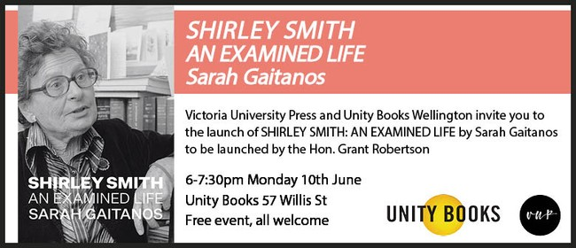 Book Launch - Shirley Smith: An Examined Life