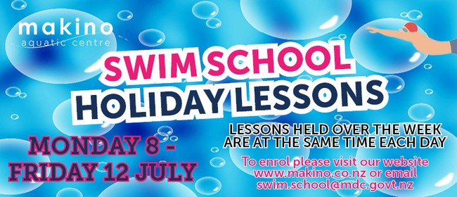 July Swim School Holiday Lessons