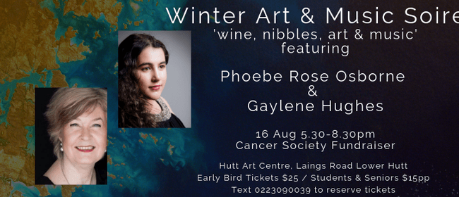 Winter Art & Music Soiree - Cancer Society Fundraiser
