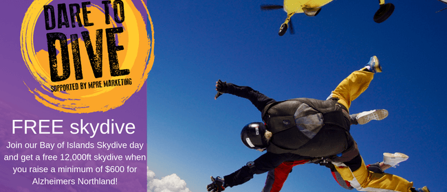 Dare to Dive - Skydive for Alzheimers Northland