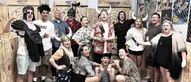 Auckland Axe Throwing Grand Opening