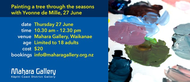 Painting a Tree Through the Seasons with Yvonne de Mille