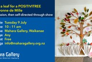 Create a Leaf for A Positivitree with Yvonne de Mille