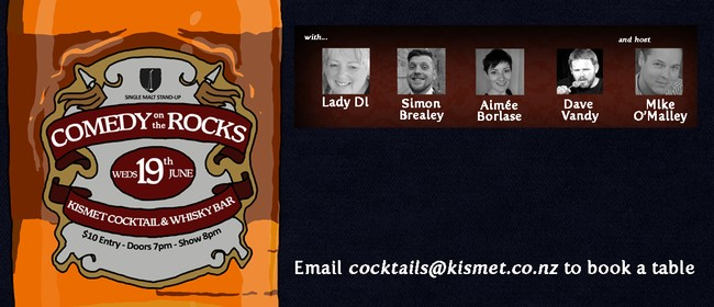 Comedy on the Rocks June