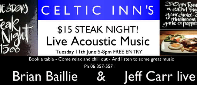 Steak Night ft. Brian Baillie & Jeff Carr