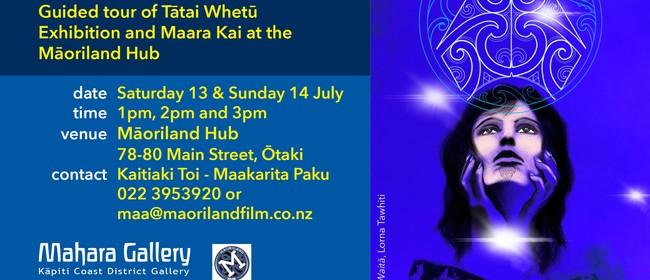 Guided Tour of Tātai Whetū Exhibition & Maara Kai