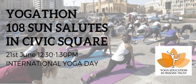 Yogathon 108 Sun Salutes