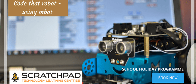 Code That Robot Using Mbot – Holiday Programme