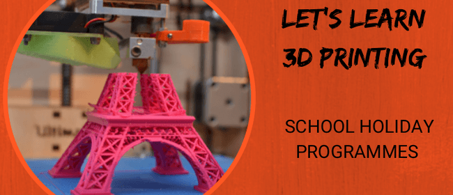 Let's Learn 3D Printing – Holiday Programme