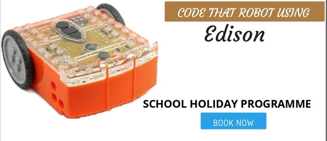 Code That Robot Using Edison: Holiday Programme
