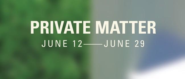 Private Matter