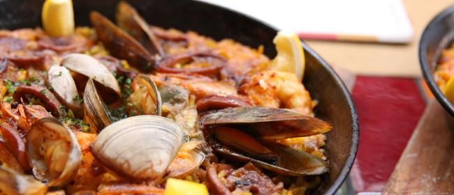Peter Gordon's Paella Happy Hour