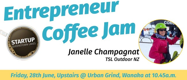 Entrepreneur Coffee Jam featuring TSL Outdoor