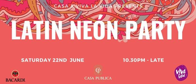 Latin Neón Party