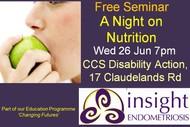 Insight Endometriosis Seminar On Nutrition