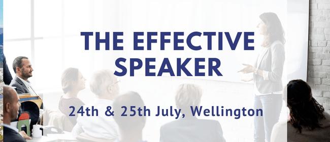 The Effective Speaker