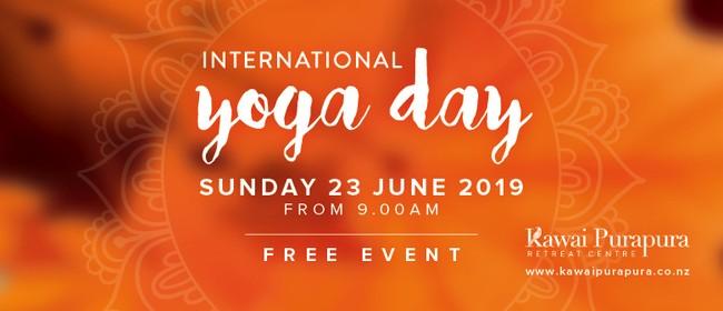 International Yoga Day Event