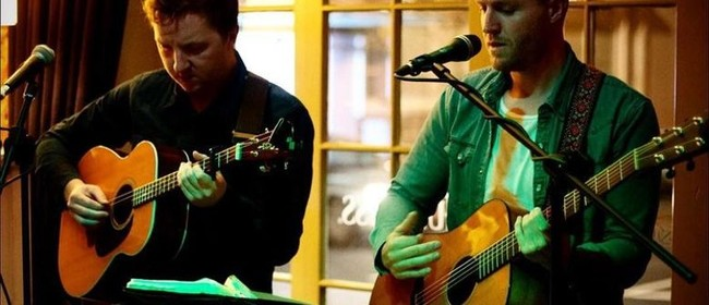 Live Music: Paddy and Oliver