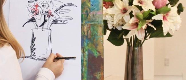 Pencil to Paper: Still Life Drawing Club