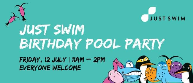 Just Swim Birthday Pool Party