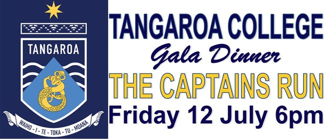 "Tangaroa College Gala Dinner - ""The Captains Run"""