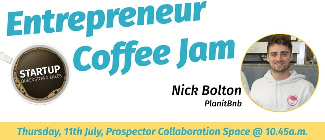 Entrepreneur Coffee Jam Featuring Planit BNB