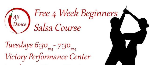 Four-Week Beginners Salsa Course