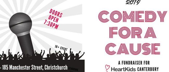 Comedy For Cause Heart Kids - Christchurch - NZHerald Events