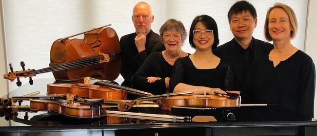 Aroha String Quartet with Diedre Irons (Piano)