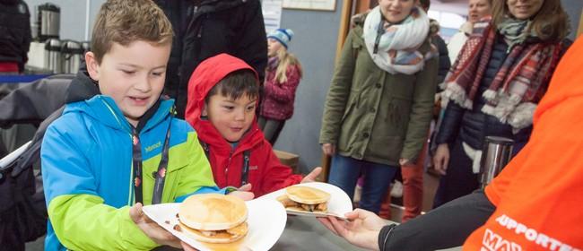 Pak 'n Save Pancake Breakfast - Taupo Winter Festival 2019