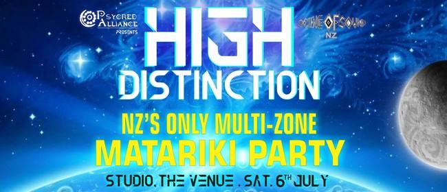 High Distinction - NZ's Only Multi-Zone Matariki Party