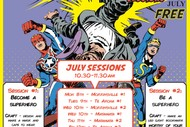 Superhero Smackdown School Holiday Sessions