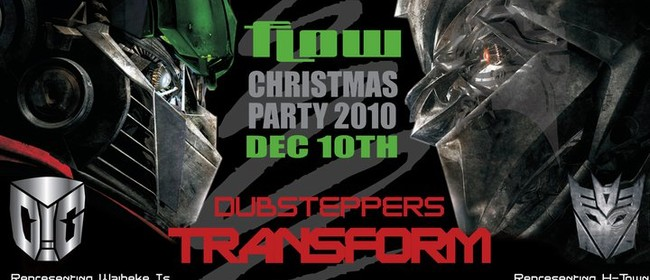 Flow Dubstep Christmas Party - Optimus Gryme, Billy Fluid