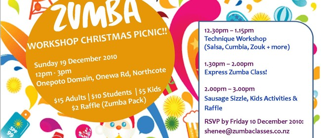 Zumba Workshop Christmas Party