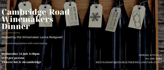 Cambridge Road Winemakers Dinner