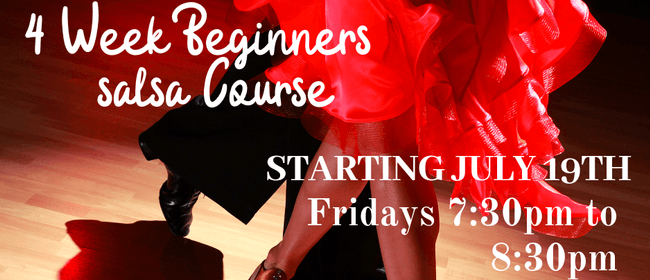 4 Week Beginners salsa Course