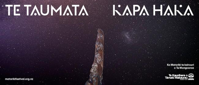 Matariki Festival 19: Te Taumata Kapa Haka: SOLD OUT