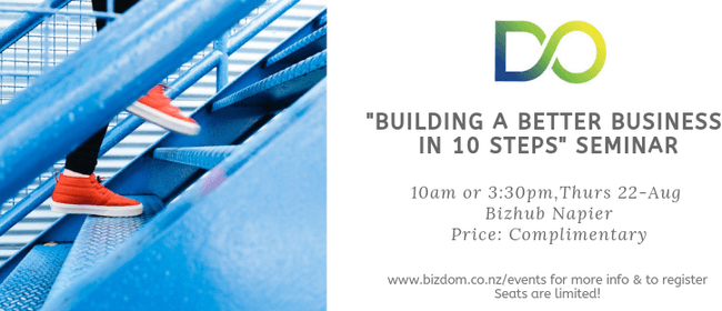 Building a Better Business in 10 Steps - Seminar